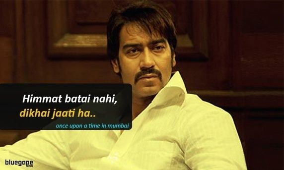 What are some good Bollywood movie dialogues, which either entertain you or…