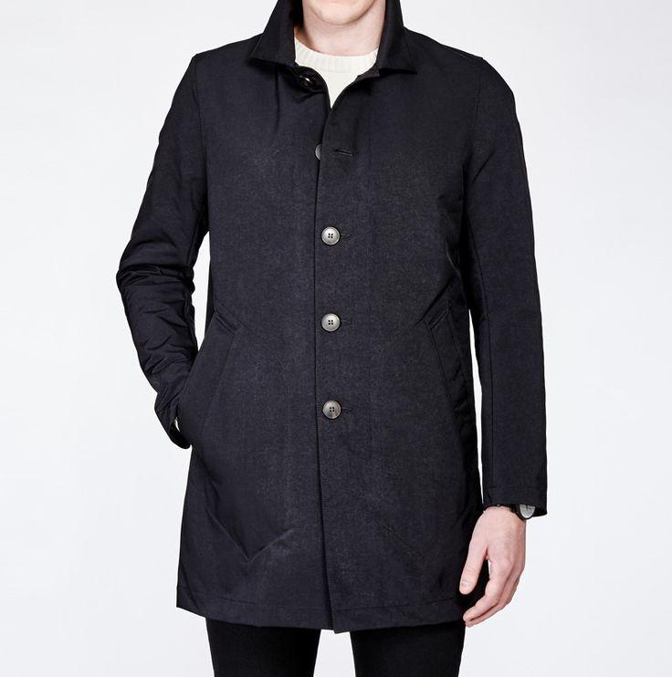 Fano #Black #coat. www.snoot.se