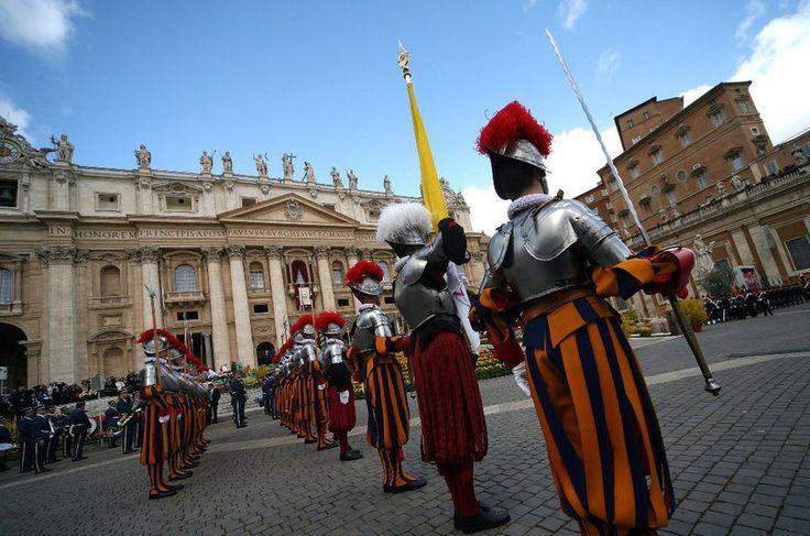 Guarda Suíça, Vaticano