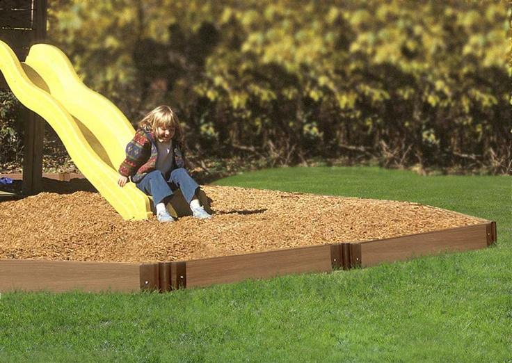 Playground Edging Ideas Outdoor Play