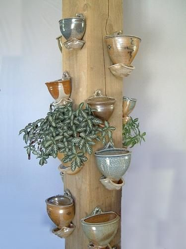Selection of Hanging Wall Planters. Toff Milway
