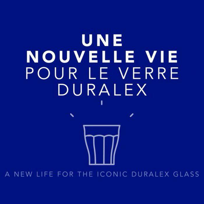 Le 5.5 designstudio revisite le mythique verre Duralex de notre enfance
