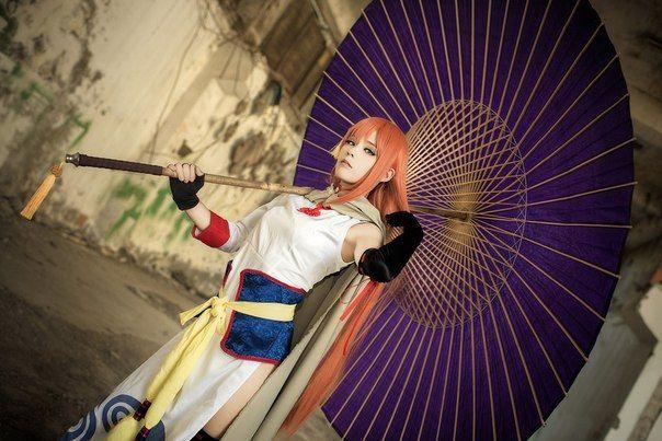Kagura cosplay