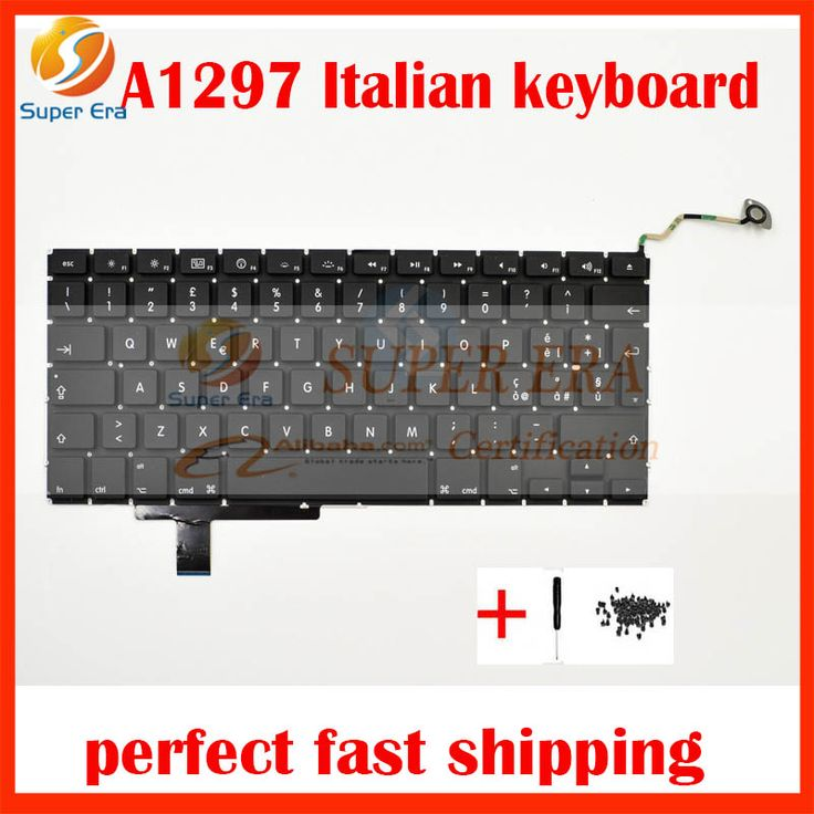 "original Italian ITA Italy Keyboard for Apple Macbook Pro 17"" A1297 Italian Keyboard 2009-2011 MB604 MC226 MC024 MC725 MD311 #Affiliate"