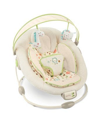 Bright Starts Comfort and Harmony Bouncer - Sandstone