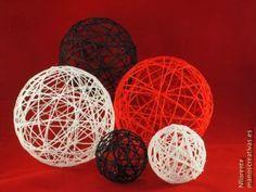Cómo hacer bolas de lana para decorar