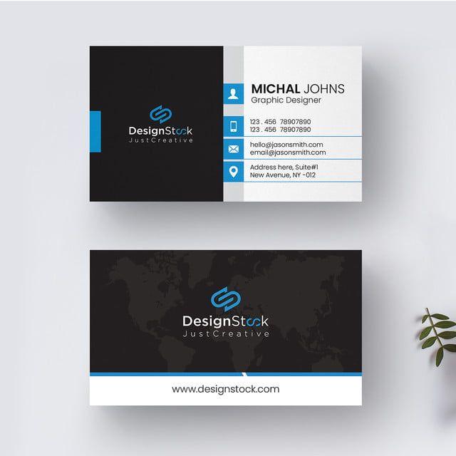 Business Card Template Card Template Business Card Design Free Business Card Blue Busi Corporate Business Card Business Card Template Free Business Card Design