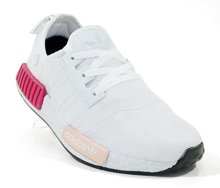 tenis adidas rosa e branco