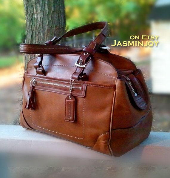 Vintage Coach Leather Satchel...this is so beautiful...
