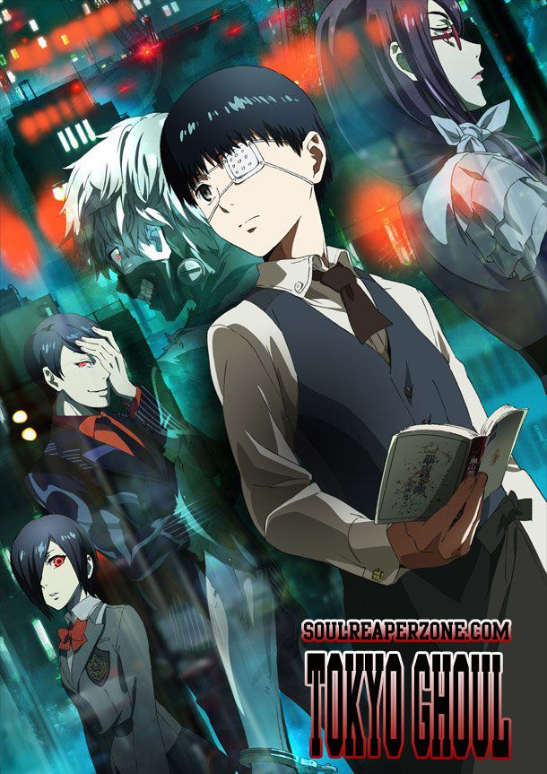 Tokyo Ghoul Season 1 Uncensored Bluray [BD] | Episodes 480p 60MB | 720p 100MB MKV