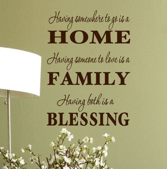 Best Family Wall Sayings Ideas On Pinterest Wall Sayings - Custom vinyl wall decals sayings for family roomitems similar to entry wall quote family wall decals home family