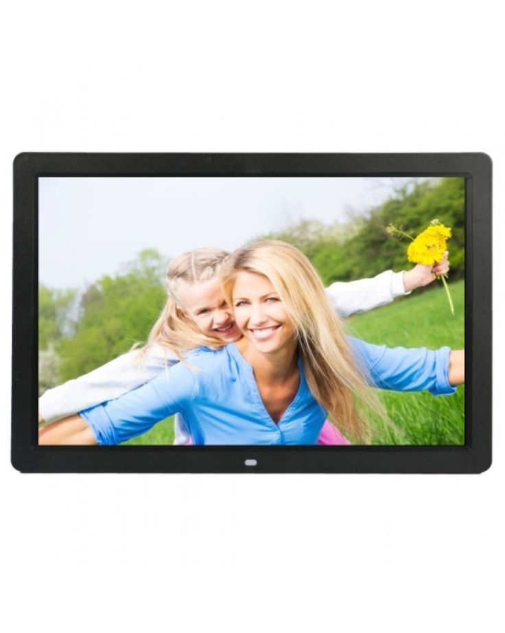 17 inch HD 1080P LED Display Multi-media Digital Photo Frame with Holder & Music & Movie Player, Support USB / SD / MS / MMC Card Input(Black) #0