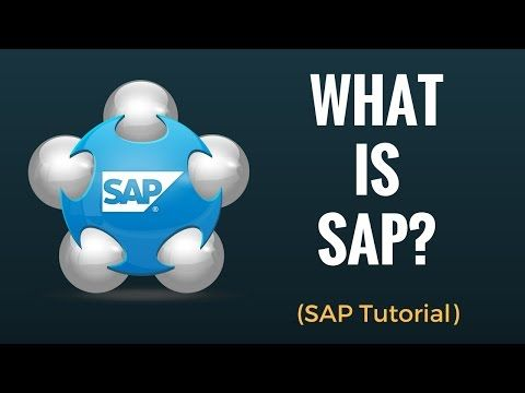 What is SAP? Why do we need ERP?  #robotics #Mastering Data #process automation