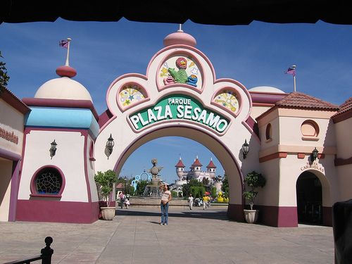 Plaza Sesamo theme park in Monterrey, Mexico. A family fun trip is on the horizon!