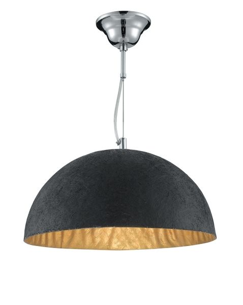 Searchlight 8149GO Anishi - Black and Gold Ceiling Pendant Light