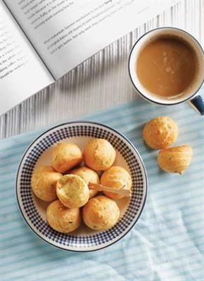 Basic cheese puff, recipe in Bahasa Indonesia.