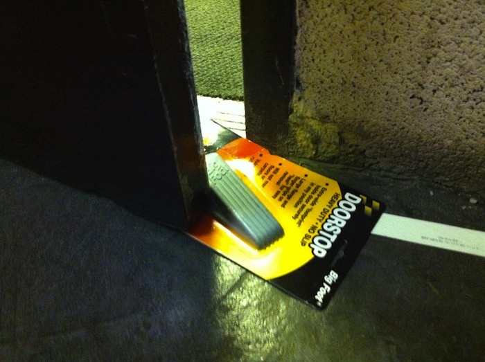 Define laziness - lazy doorstop
