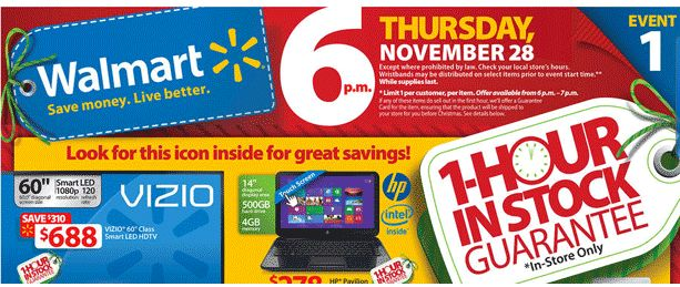 Early Walmart Black Friday Sale is Matching Competitor Deals on November 22