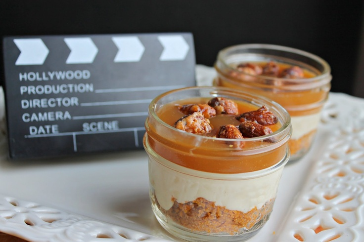 mini cheesecake jar