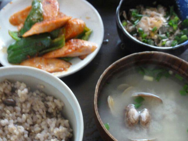 簡単ピーマンと魚肉ソーセージで作る料理レシピアイディア集
