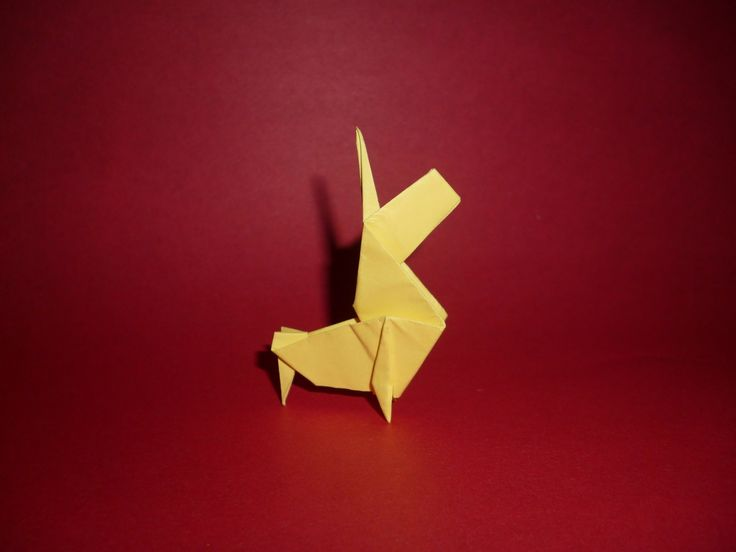 Origami Unicorn Instructions (Perry Bailey)