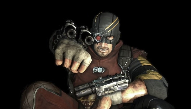 Deadshot pic #4 as portrayed in Batman: Arkham City