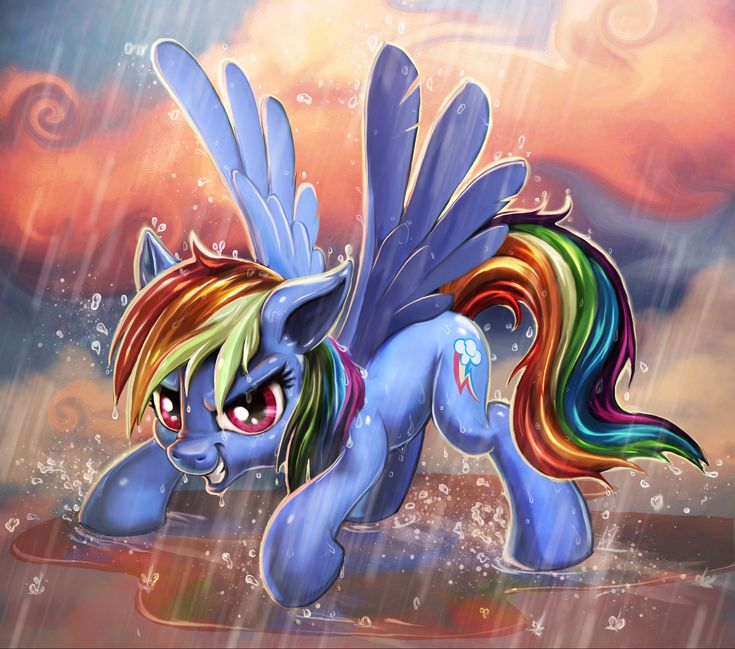 e621 2017 blue_feathers cloud cutie_mark equine feathered_wings feathers female feral friendship_is_magic grin hair harwick looking_at_viewer mammal multicolored_hair my_little_pony outside pegasus rainbow_dash_(mlp) raining red_eyes smile solo spread_wings wet_hair wings