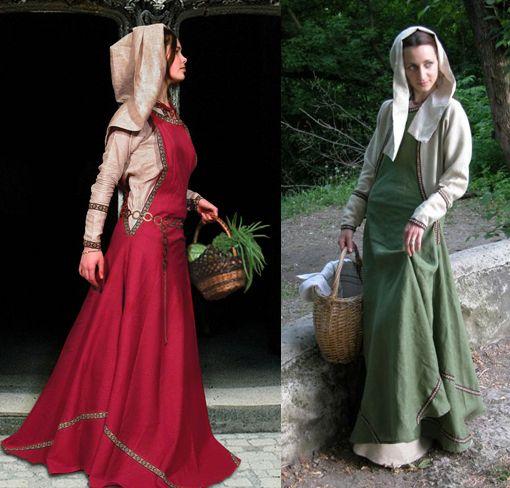 vestidos mujeres vikingos - Buscar con Google