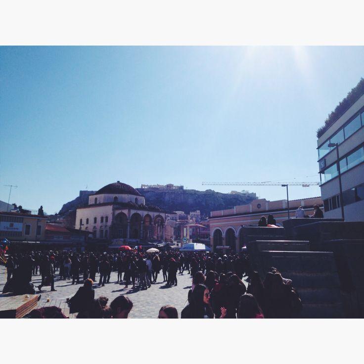 Mostiraki square, Athens