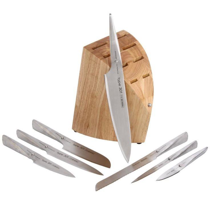 Μαχαίρια σεφ, βάση για 8 Μαχαίρια Type 301 P12 by F.A. Porsche - Chroma