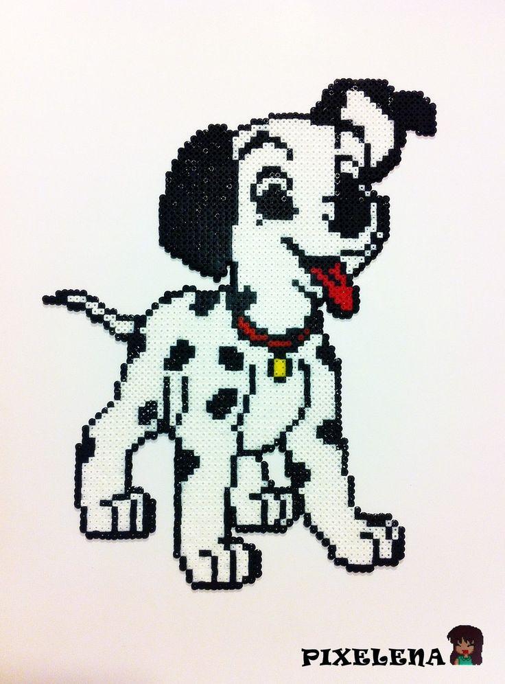 Disney 101 Dalmatians perler beads by PixelenaMV on deviantART