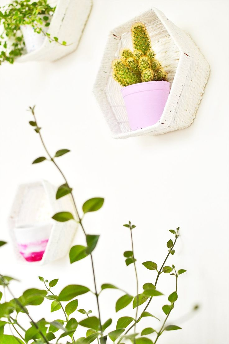 What if you could enjoy hexagon shelves without having to build one from scratch or purchasing expensive ones? Basket Hexagon shelves is one alternative to seek