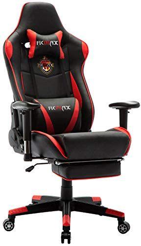 Fine Ficmax Chaise Gaming Ergonomique De Massage Fauteuil De Lamtechconsult Wood Chair Design Ideas Lamtechconsultcom