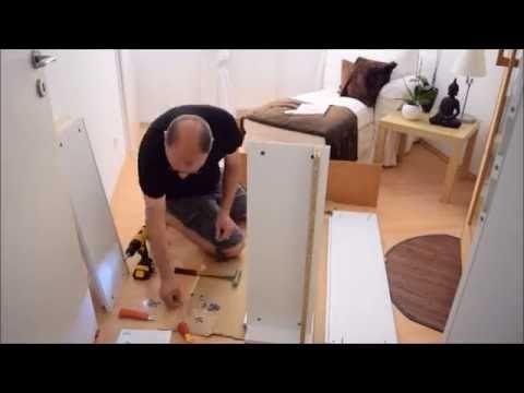 Geheimtür ( versteckte Tür ) mit einem IKEA Regal bauen. - YouTube