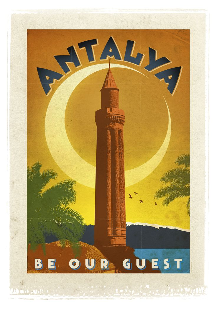 Antalya: Home of beautiful beaches and ancient civilizations.