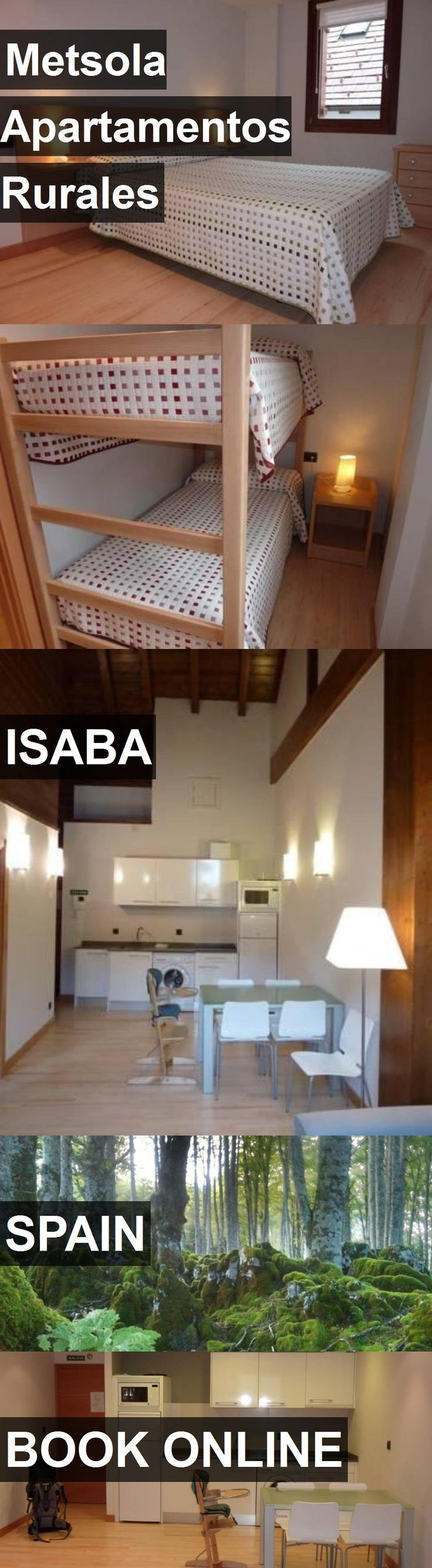 Hotel Metsola Apartamentos Rurales in Isaba, Spain. For more information, photos, reviews and best prices please follow the link. #Spain #Isaba #travel #vacation #hotel