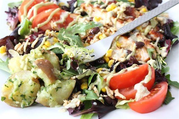 BBQ Chicken Salad | Two Peas & Their Pod