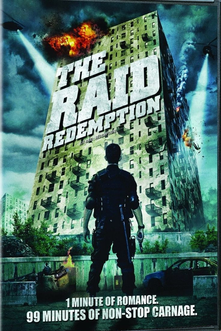 The Raid: Redemption (2011) R - Stars: Iko Uwais, Ananda George, Ray Sahetapy.  -  A S.W.A.T. team becomes trapped in a tenement run by a ruthless mobster and his army of killers and thugs. -  ACTION / CRIME / THRILLER