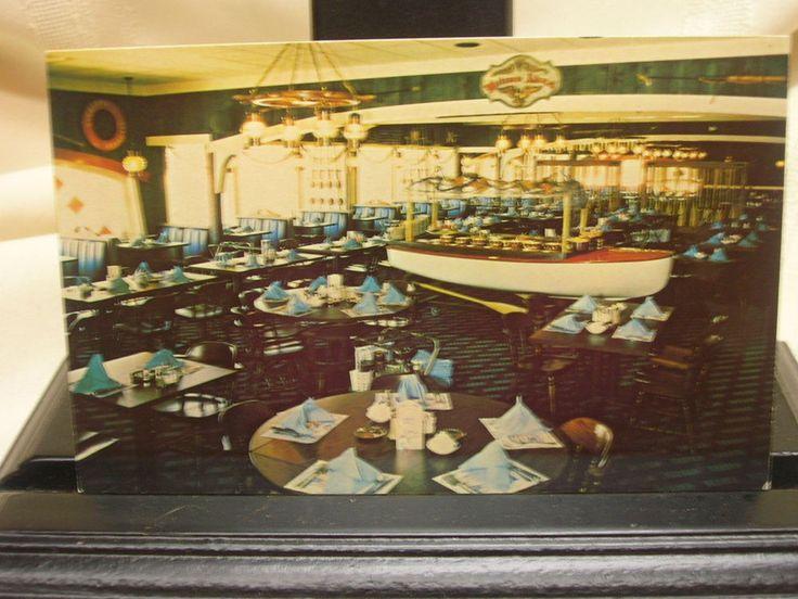 Vintage Postcard McGarvey's Nautical Restaurant Vermillion Ohio