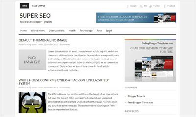 Download Template Blogger Super SEO Friendly