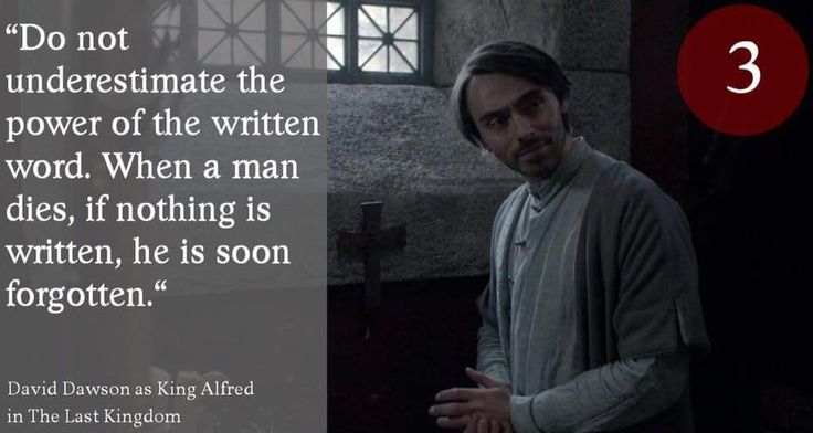 Day 3 of our David Dawson advent calendar...as King Alfred in 'The Last Kingdom'