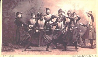 Austrian Women's Fencing Team - Steampunk Style
