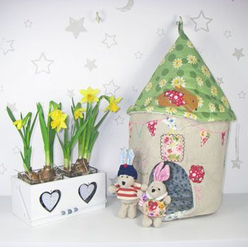 94 best easter gifts images on pinterest easter gift farm animals our delightful rabbit house family is made entirely from beautiful embroidered fabric and would make a fabulous easter gift negle Gallery