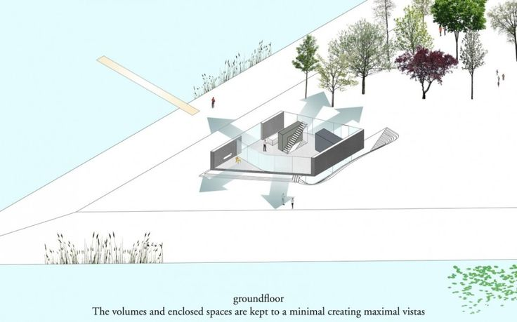 Villa:Modern Kavel Villa Plans Ground Floor Concept Idea Plan Design Scheme With Volumes And Enclosed Spaces Are Kept To A Minimal Creating ...