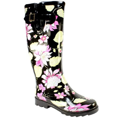 Womens New Winter Rain Snow Festival Wellies Boots 3 8   eBay
