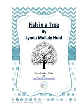 Fish in a tree a guide to close reading trees a tree for Fish in a tree by lynda mullaly hunt