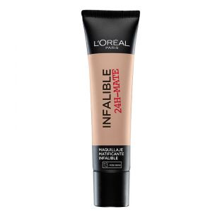 L'OREAL PARIS - Base de maquillaje Infalible Mate 24h. Precio:11,95 €