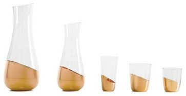 Midas Collection Glasses - contemporary - cups and glassware - Design Within Reach