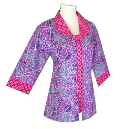 Baju batik wanita blus batik