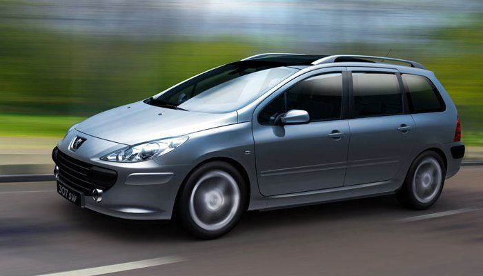 the peugeot 307 sw I'll drive when I get there